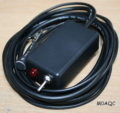 M0Aqc Hands Free Microphone To Suit Most Amateur Radio Equipment