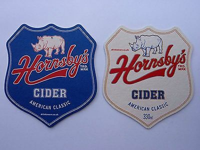 Hornsby's  American Cider Beermat Coaster