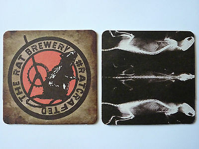 The Rat Brewery #Rat Crafted (7) Beermat Coaster