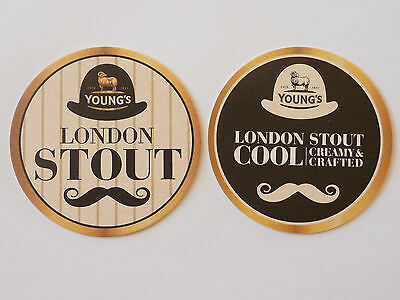 Young's London Stout Beermat Coaster