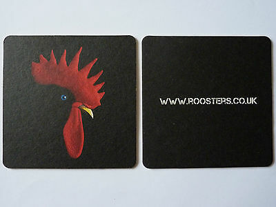 Roosters Brewing Co. Beermat Coaster A