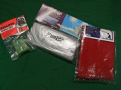 Lawn Bowls Gift Pack - Bull Dog Grip, Bag Cover and Polishing Sleeve