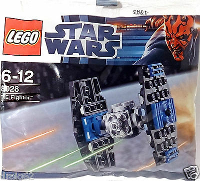 Lego Star Wars Mini Tie Fighter - 8028 *NEW/SEALED POLYBAG*