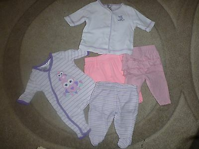 baby girl bulk lot clothes size 0000