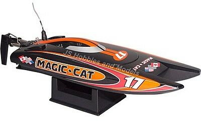 RC Electric Speed Boat - Joysway Magic Cat RTR 2.4GHz RTR NEW Version