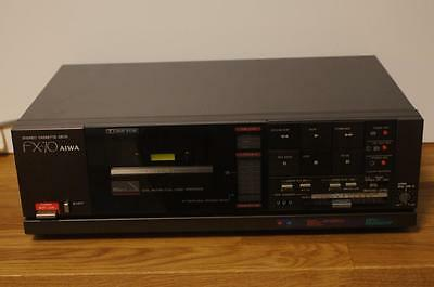 Vintage Aiwa Fx-70 Stereo Cassette Deck With Dolby B-C Nr System.