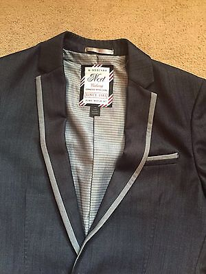 WOW NEXT Suit Jacket With BHS Trousers Perfect Match Size 9