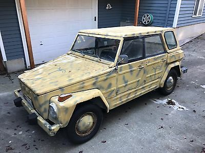 """1974 Volkswagen Thing  VW Thing - 1974 Vintage Classic VW Type 181 """"Thing"""""""