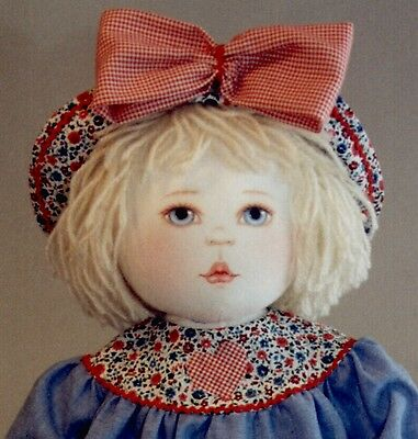 Sale - Dilley and Chick Cloth Doll Pattern by Kezi