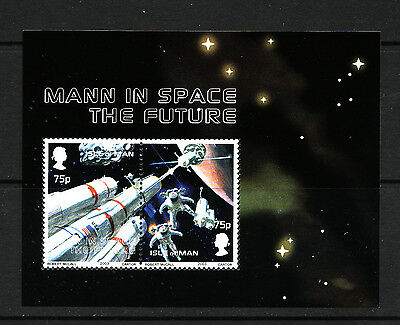 2003 Isle of Man, Space Exploration, Miniature Sheet, NH Mint, SG ms1055