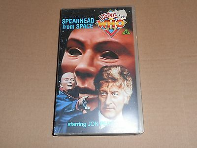 Dr Doctor Who - Spearhead from Space - VHS/PAL Video