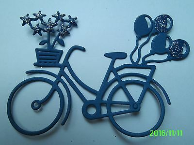 Metal Cutting Die - Bicycle And Balloons