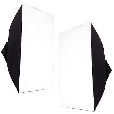 Kit 2x Boite Lumière Softbox DynaSun WOS1001 60x90 pour Flash Studio Photo Video