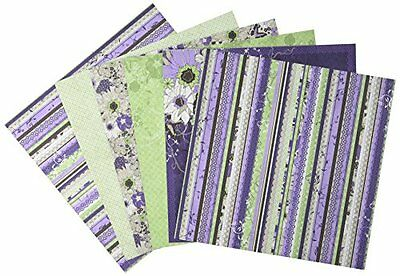 """Hot Off The Press Paper Pack 12 """"x 12"""" """"12/Pkg-Wildflowers"""