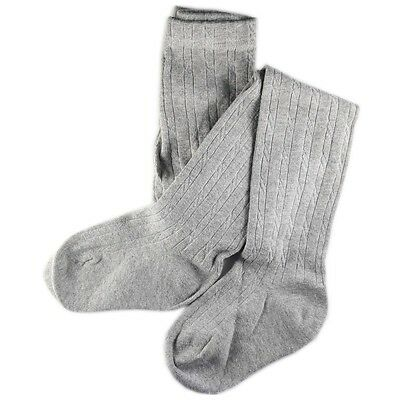 Collant Enfant Coton Gris