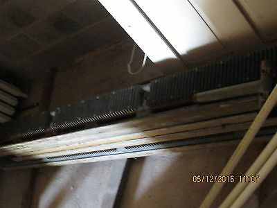 "Vintage Weil-McLain Cast Iron Baseboard Radiator Snug 6"" tall sections"