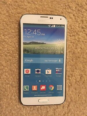 NON-WORKING Verizon Dummy Phone Toy Model Display For Samsung Galaxy S5 - White