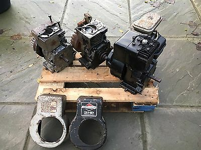 3x Briggs And Stratton 3hp Engines.