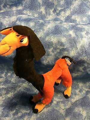 """Disney The Emperors New Groove Kuzco The Llama Pose-Able 11"""" Plush By Applause"""