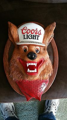 Coors Light Beer Wolve