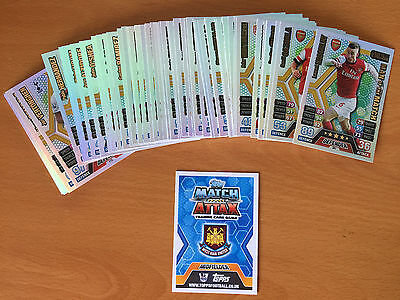 Match Attax 13/14 Complete Set 60 Man Of The Match Cards All Perfect 2013 2014