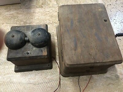 Telephone Magneto 5 Bar Vintage Northern Electric Canada Bell Rings