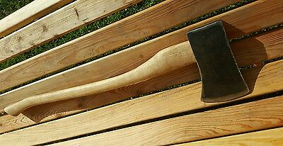 Gilpin tree felling axe large wooden handle ex army military 1977