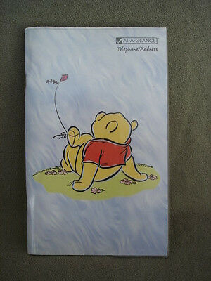Address Telephone Directory Book At A Glance Disney Pooh