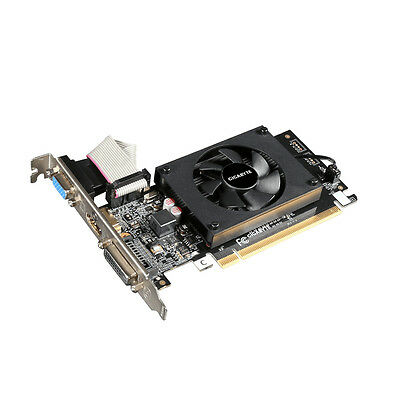 Gigabyte NVIDIA GeForce GT 710 2GB Graphic Card DDR3, 1800 MHz