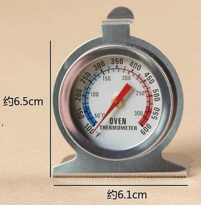 New Oven Cooker Thermometer Temperature Gauge Good Quality 300ºC Stainless Steel