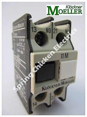 Klockner Moeller Auxilliary Contact Block - 11Dilm
