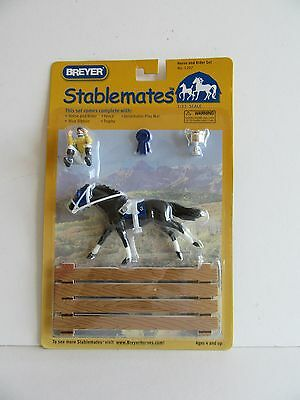 Breyer Stablemates  Horse & Rider #5207 1:32 scale Rare