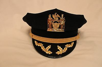 Obsolete Nypd Chiefs Cap / Hat