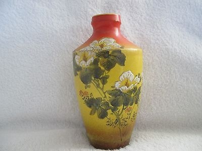 Antique Hand Painted and signed Japenese SATSUMA Vase