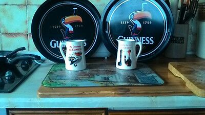 Guinness Trays and Marketing Jugs