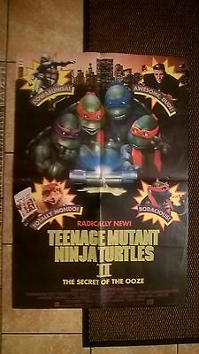 TEENAGE MUTANT NINJA TURTLES 11 -  Original ASIAN CINEMA MOVIE POSTER .