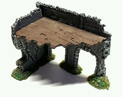 Wargames Scenery Terrain  28mm Resin Arched Ruin Frostgrave, Warhammer, Malifaux