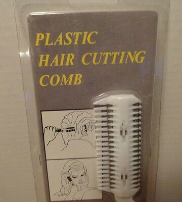 Vintage Hair Cutting Comb New With Extra Blades