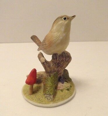 Collectible Bird Figurine On Natures Wing Munro Enterprises 1993 Wren MB/20040