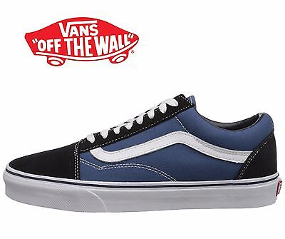 Men s Vans Old Skool Fashion Sneaker Core Classic Navy Canvas Suede All  Size NEW c4fe99096