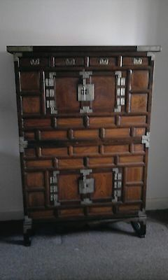 double Korean/chinese Tansu cabinet