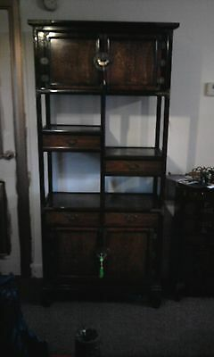 Korean/chinese display cabinet