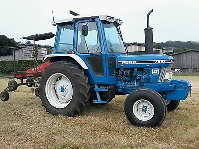 Ford 7610 2WD Tractor Series II