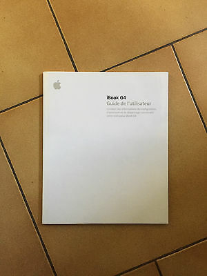 Original Apple iBook G4 User Guide (French)