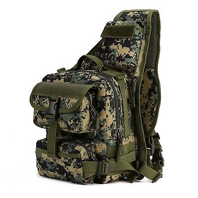 Army Tactical Chest Pack Military Molle Shoulder Bags Single Shoulder Bag Outdoo