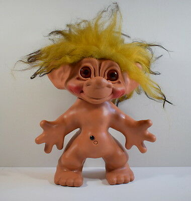 Large Vintage 1964 Dam Things Establishment Troll 12 Inches