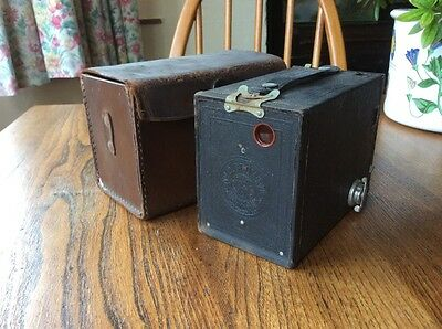 Lovely Vintage Eastman Kodak Box Brownie No 2 Model F, Very Clean Condition