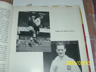 football book 1950s signed bill shankly, billy liddell & sir tom finney + others