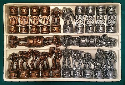 Transfomers CHESS SET complete movie game