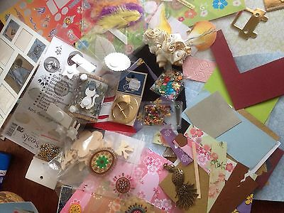 CRAFT Bulk Jewellery Scrapbooking Card Making, Embellishment Beads Findings Pape